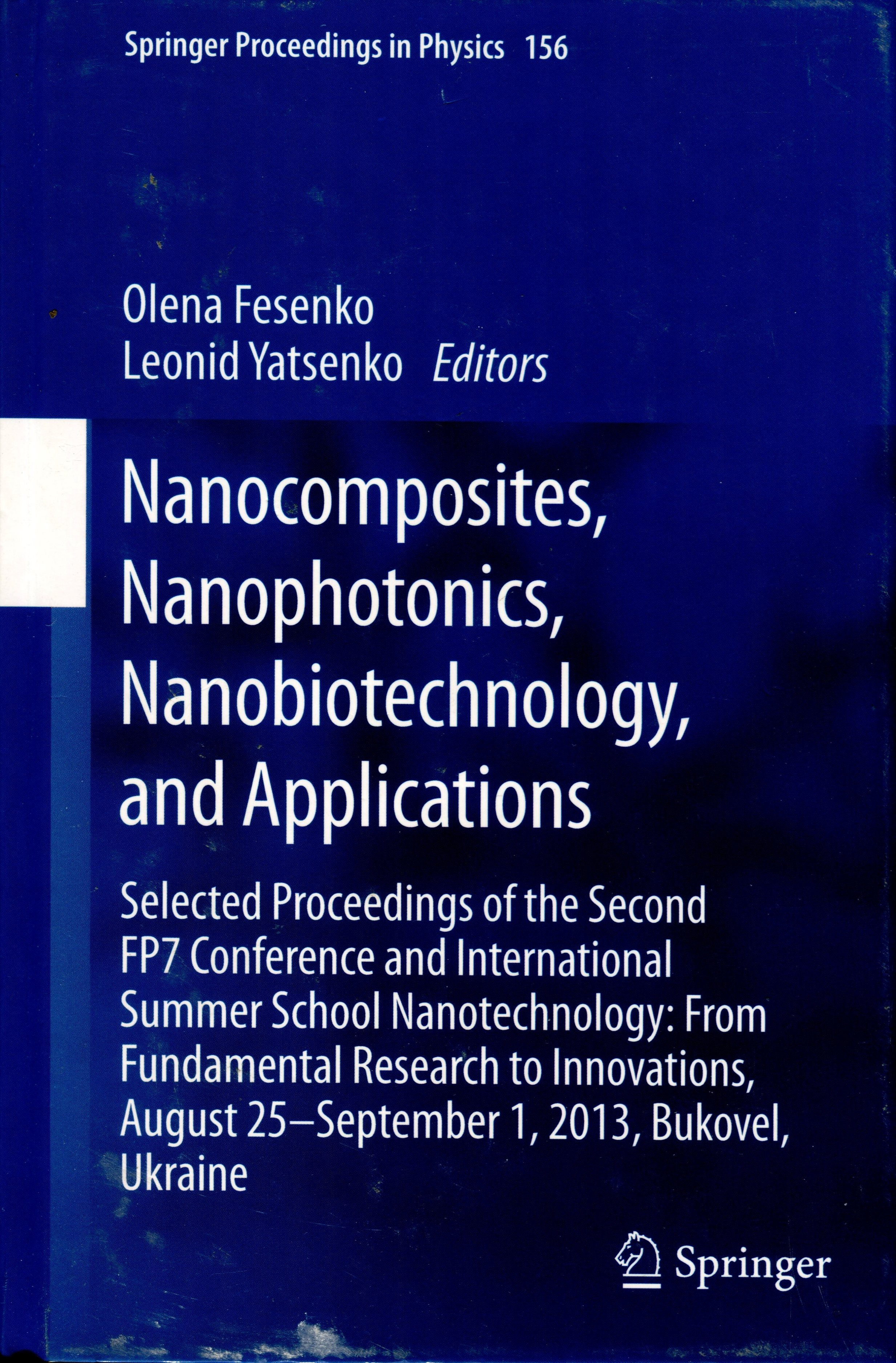 Nanocomposites, Nanophotonics, Nanobiotechnology, and Applications